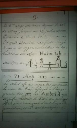 Trecho de manuscrito - Uma pitada para instigar curiosidade e a pesquisa.
