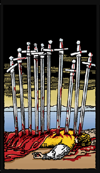 dez de espadas