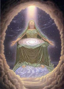 divina mãe cósmica