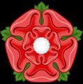 Rosa de Tudor de Cinco Pétalas