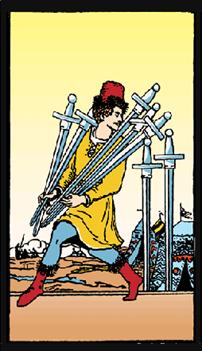 sete de espadas