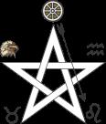 Pentagrama invocação do fogo