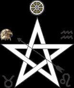 Pentagrama fogo ar